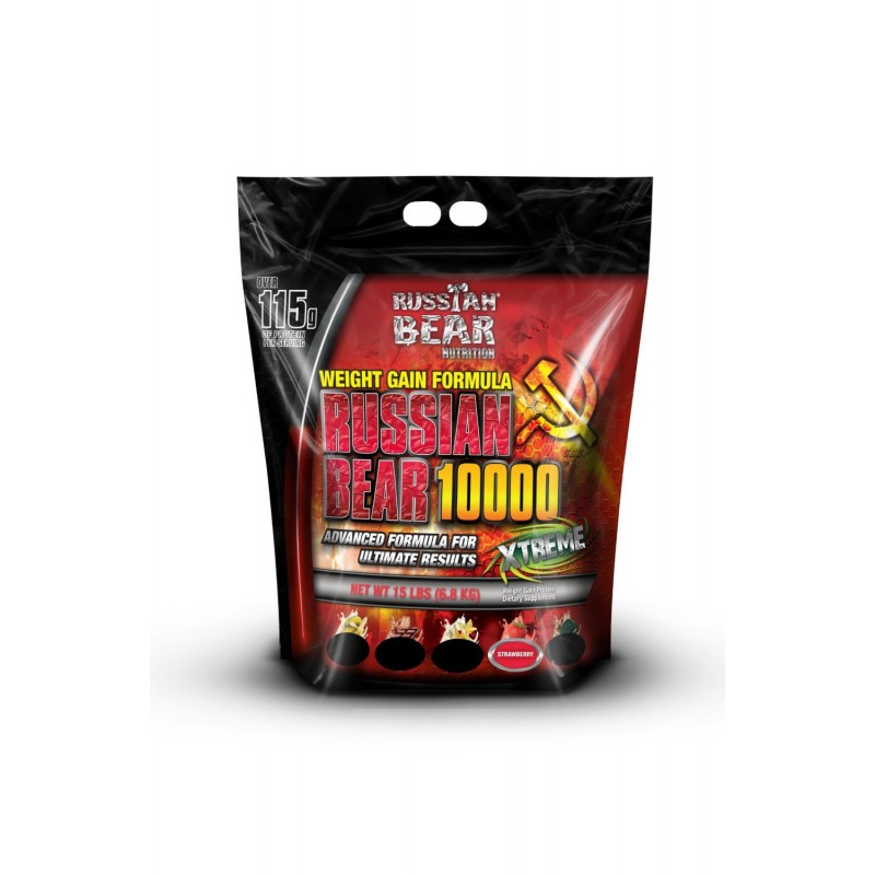 Russian Bear 10000 weight Gainer-15lbs